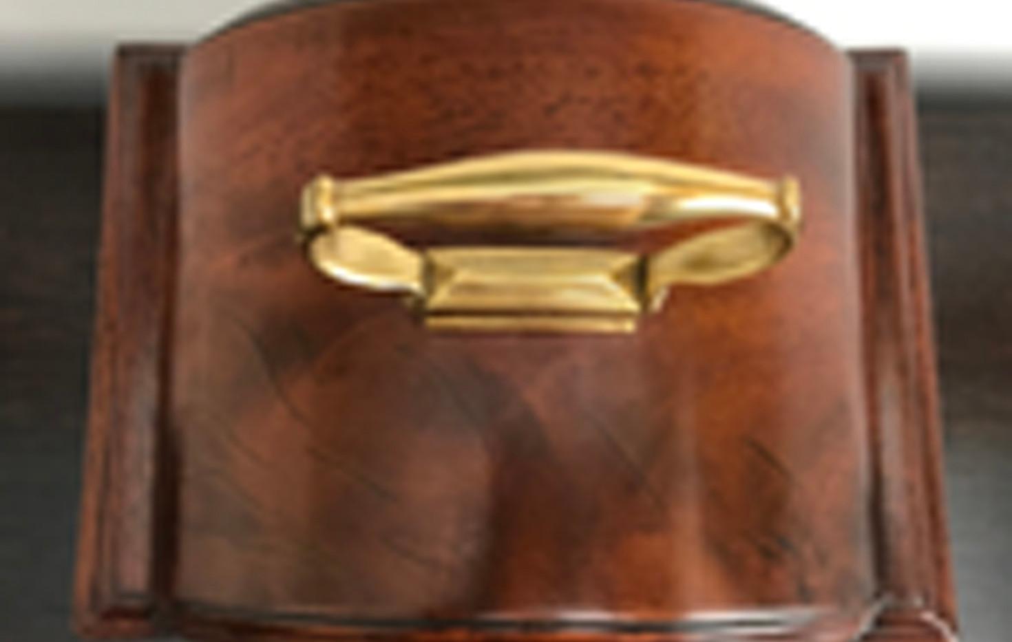 George III Fusee Mantel Clock