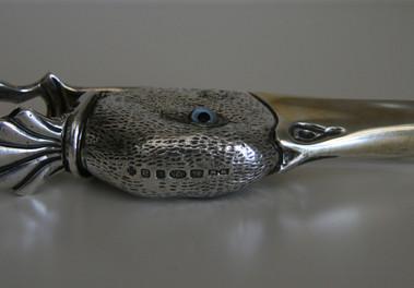 Silver Duck Head Paper Clip