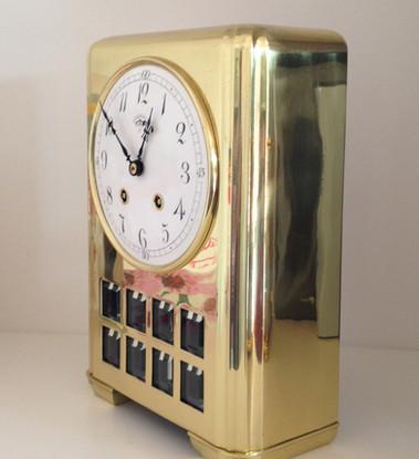 Lenzkirch German Deco Mantel Clock