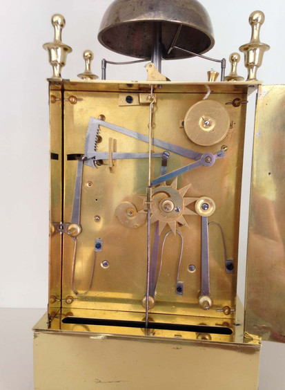 French Officers Capucine Campaign Clock