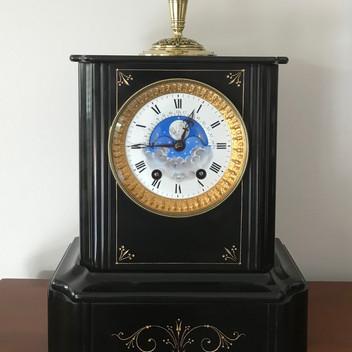 French Edourd Serin Globe Clock