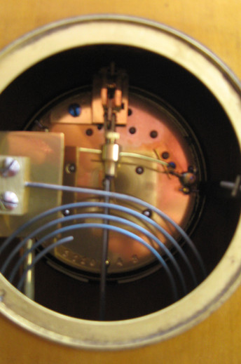 Gold Chinoiserie Mantel Clock