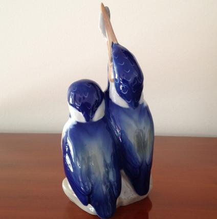 Royal Copenhagen Kingfishers Porcelian