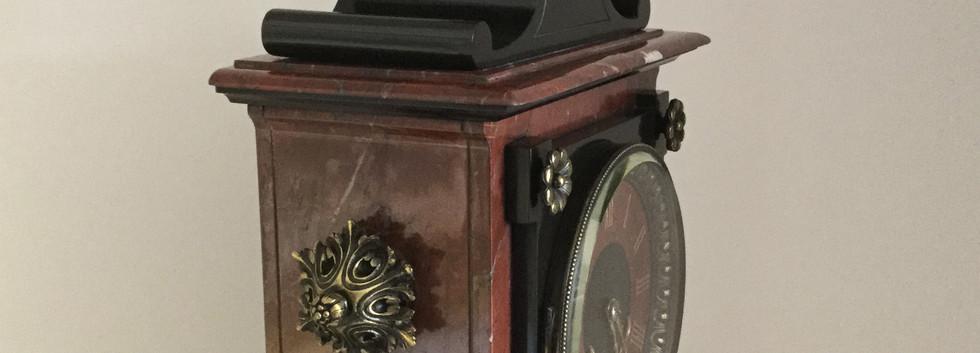 Louis XV Styel Marble Clock