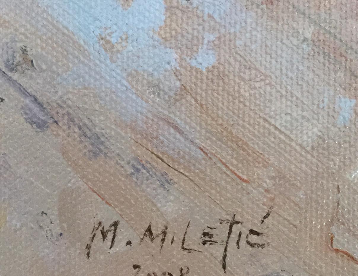 Milan Miletic Oil on Canvas