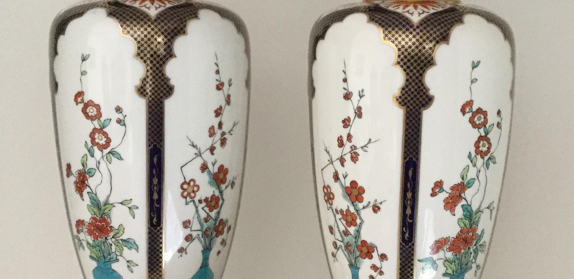 Rare Royal Worcester Vases