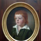18th Century English School Oil On Canvas