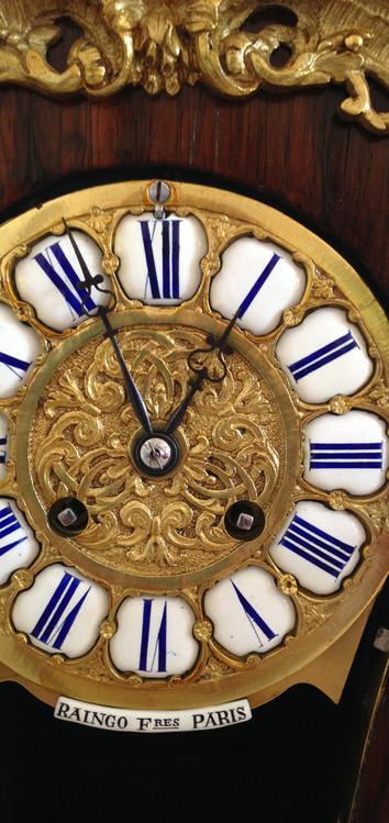 Raingo Freres Louis XV Style Clock Circa 1860
