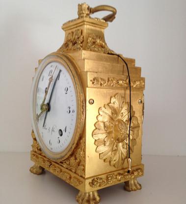Pendule d'Officier Le Roi circa 1780