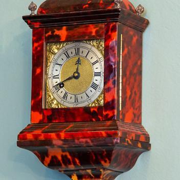 Georgian Tortoiseshell Travel Clock