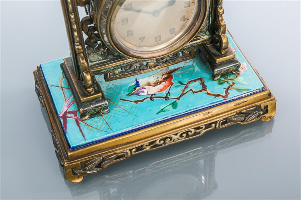 Chinoiserie Desk Clock