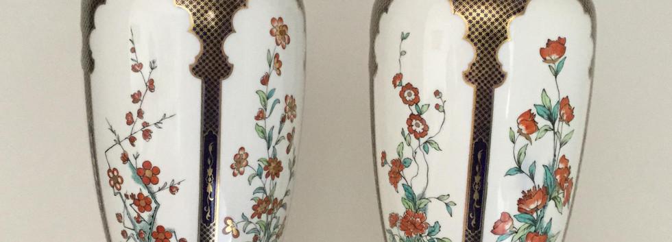Rare Royal Worcester Vases