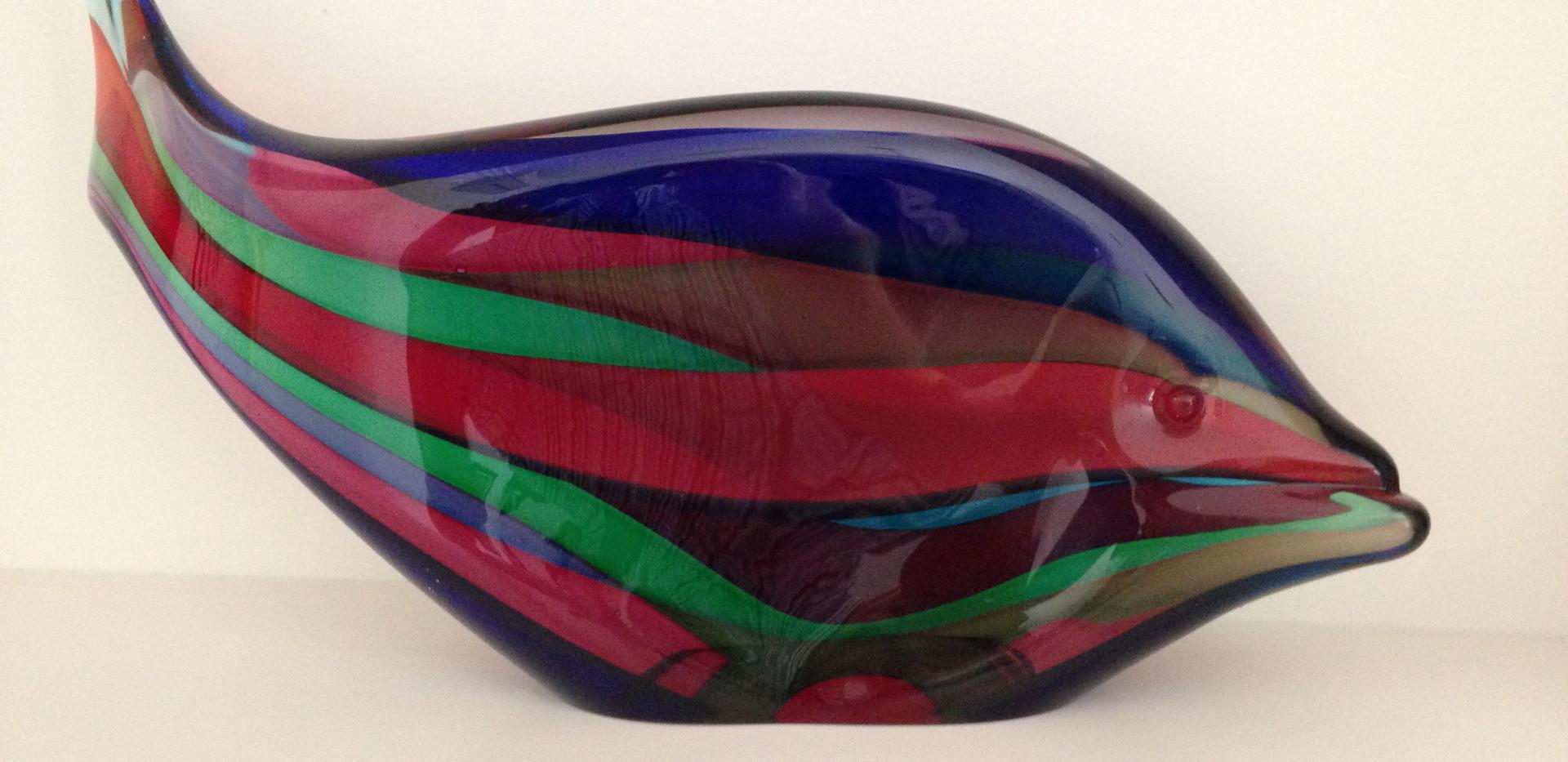 Rare Murano Art Glass Fish