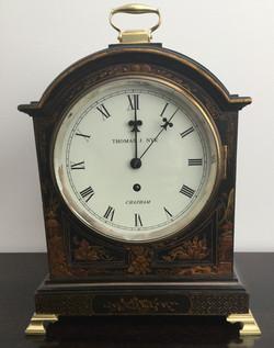 English Georgian Style Fusee Clock