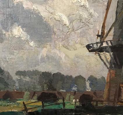 Sir William Ahton Oil Painting Circa 1950