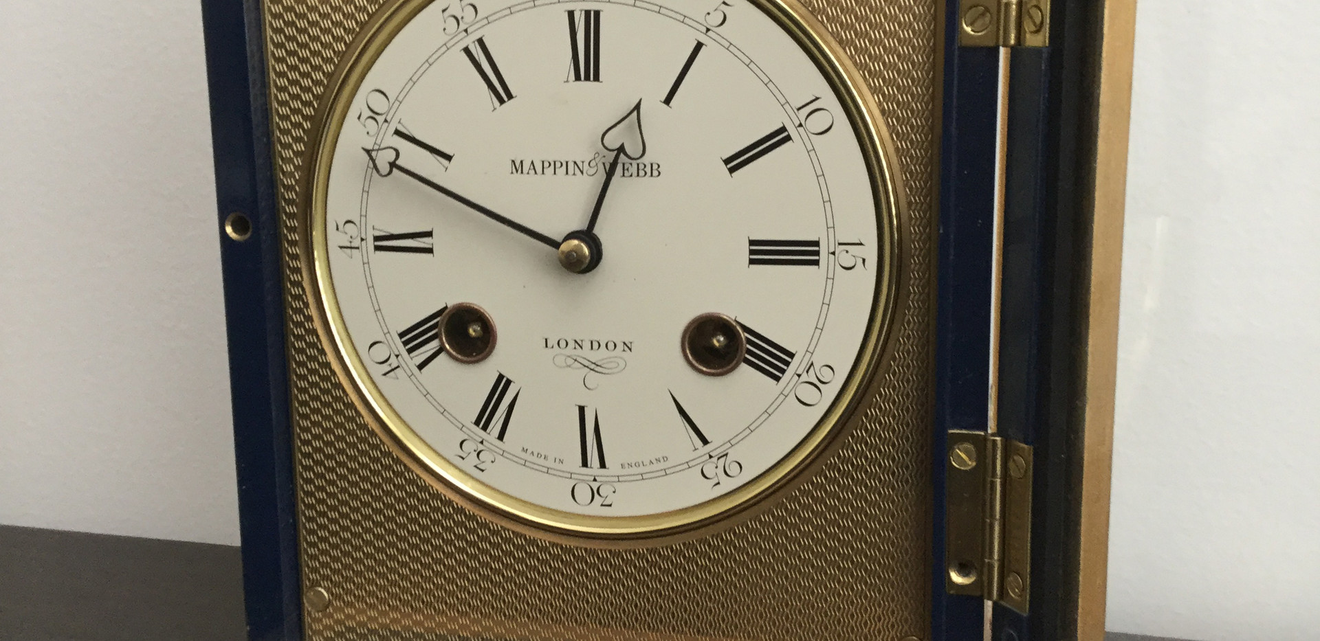 Mappin & Webb Clock Face Details