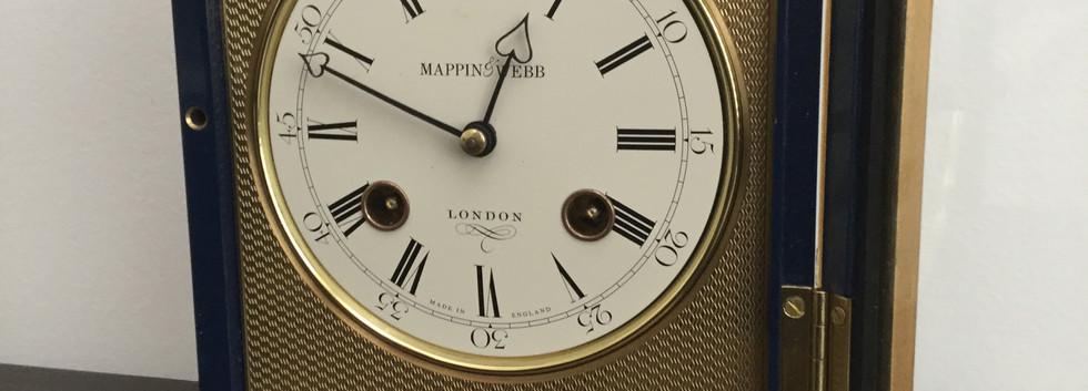 Mappin & Webb Clock Face Details