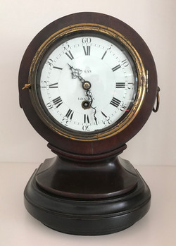 Georgian Drum Head Mantel Clock