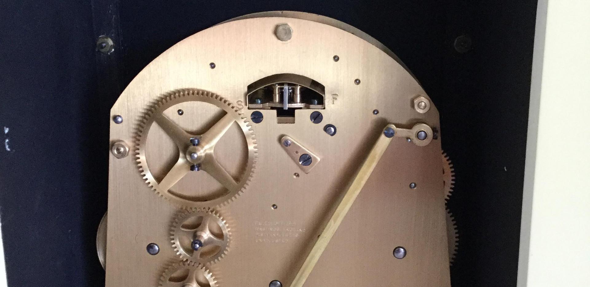 Elliott Cream Chinoiserie Clock