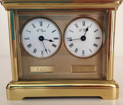 "L""Epee Swiss Dual Timezon"