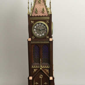French Novelty Four Face Clock