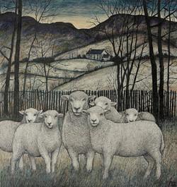Seren Bell Artist - Flock