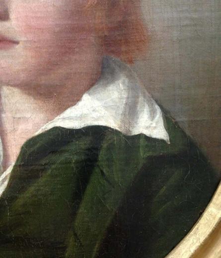 Oil On Canvas 18th Century English School