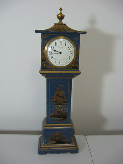 Blue Chinoiserie Longcase Clock