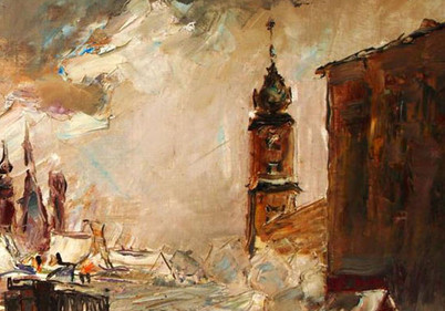 Wociech Kosowski Oil On Canvas