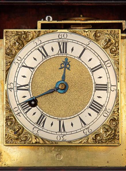 George III Tortoiseshell Travel Clock
