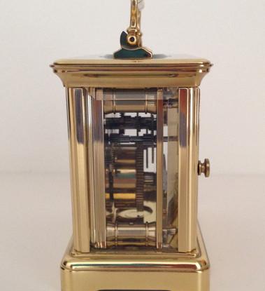 L'Epee Swiss Dual Face Clock