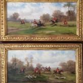 Pair Of Robert Stone Hunting Scenes