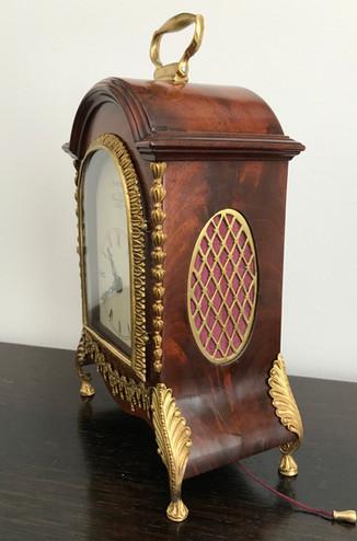 George III Miniature Fusee Clock