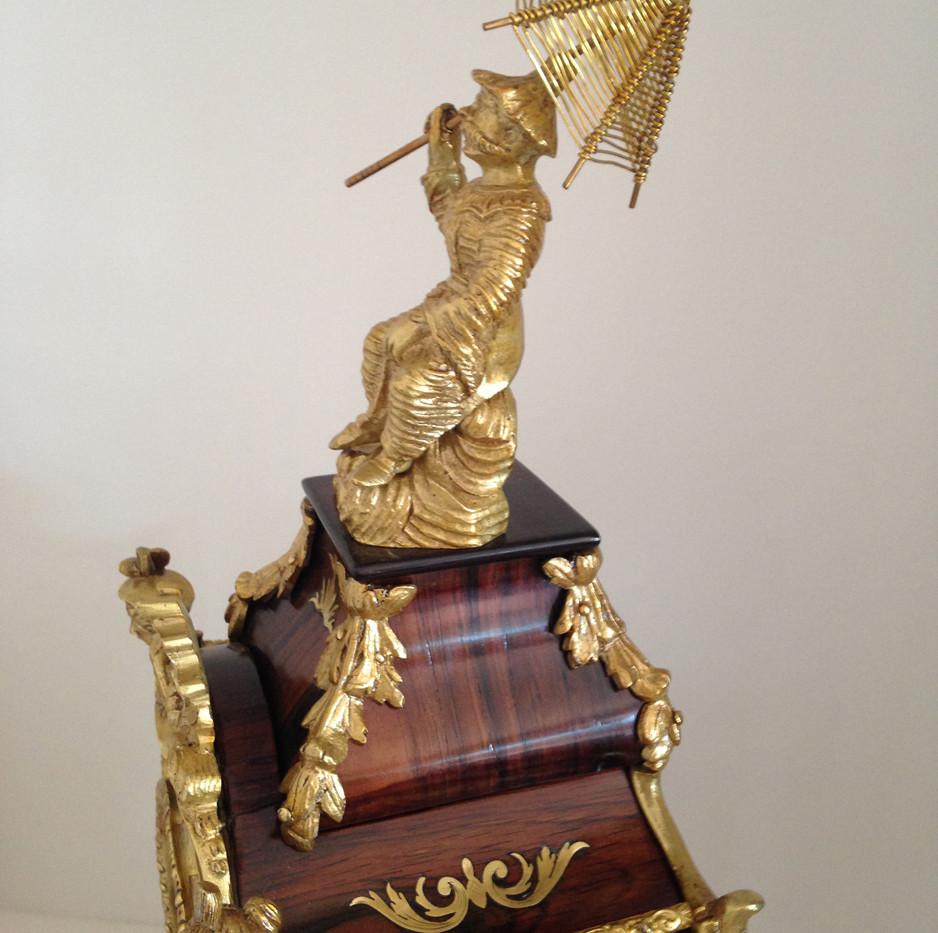 Raingo Freres Louis XV Clock Circa 1860
