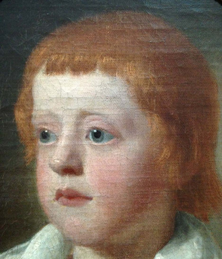 18th Century English School Oil Painting