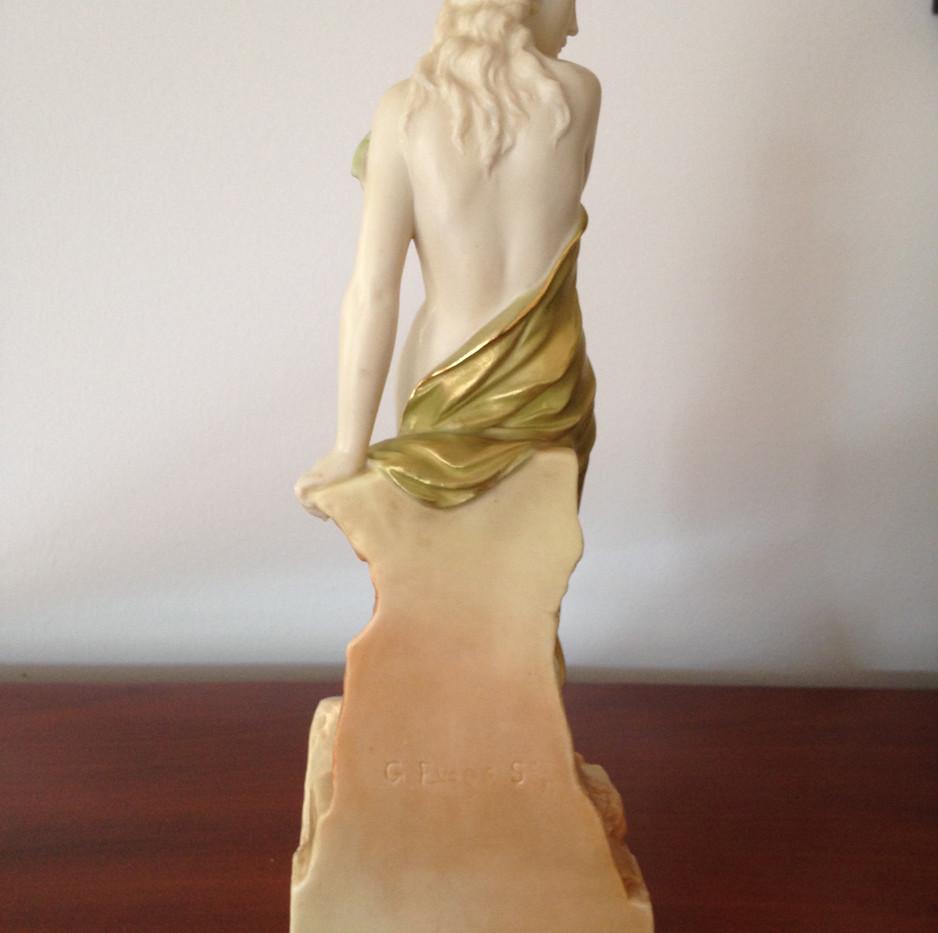 Royal Worcester Isis Figurine by G Evans