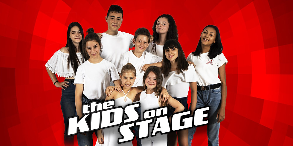 KIDS on STAGE : 12 talents of the Voice Kids France in a Musical