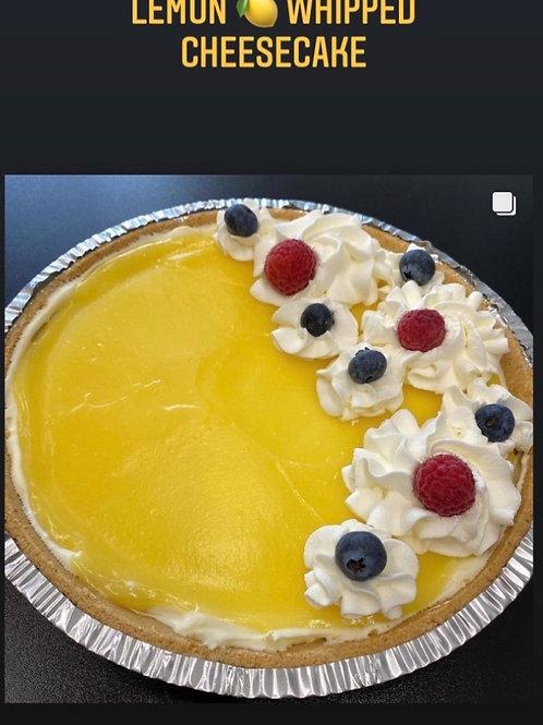 Lemon Whipped Cheesecake