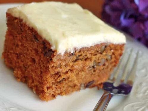 Carrot Cake - Tray 8X8