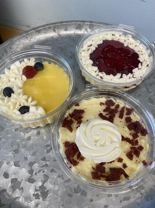 Mini Whipped Cheesecakes