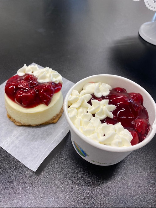 Cheesecake in a cup