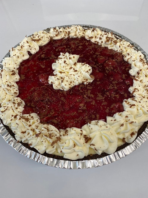 Black Forest Whipped Cheesecake