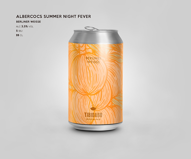 ALBERCOCS SUMMER NIGTHS FEVER _33cl