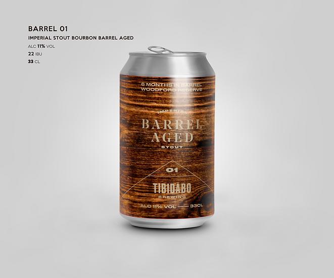BARREL 01 BOURBON BARREL AGED _33cl