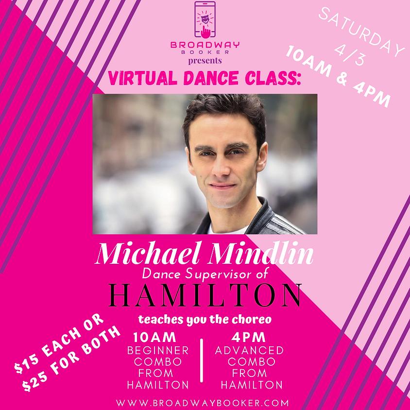 Michael Mindlin Virtual Dance Class - Hamilton
