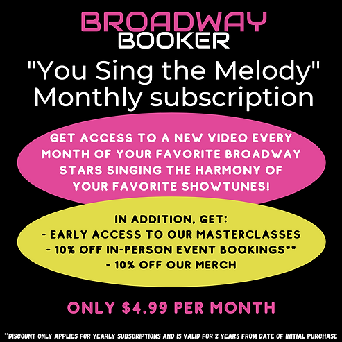 """""""You Sing the Melody"""" Subscription"""