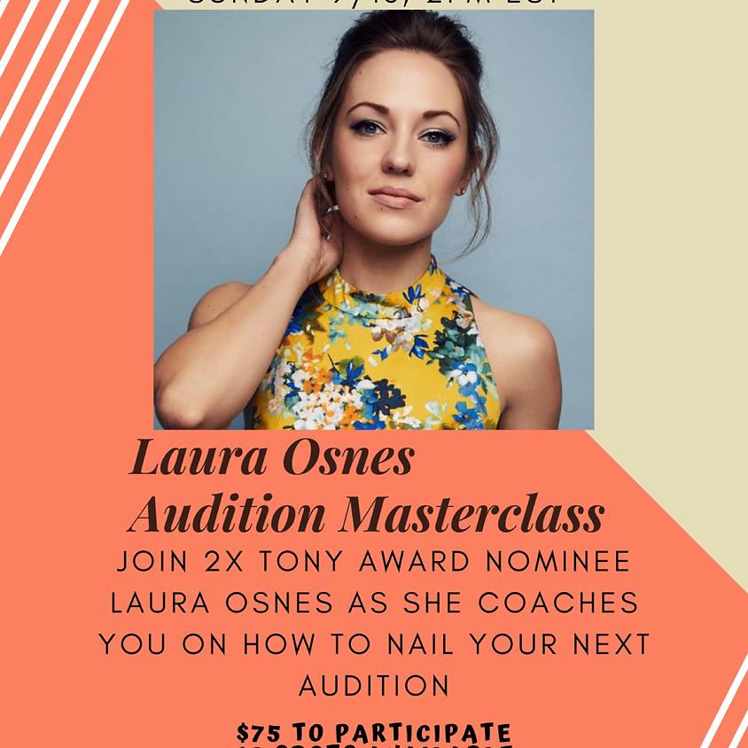 Laura Osnes Online Masterclass