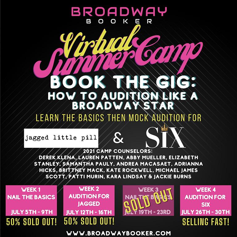 Broadway Booker Virtual Summer Camp 2021