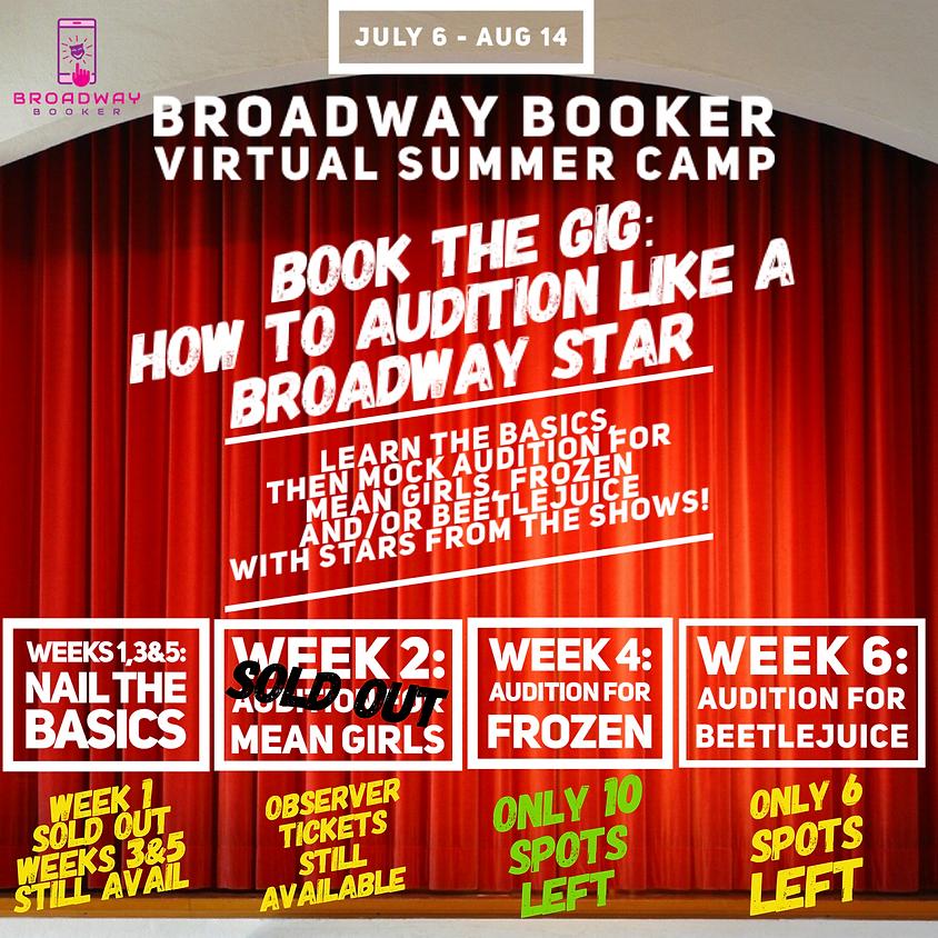 Broadway Booker Virtual Summer Camp