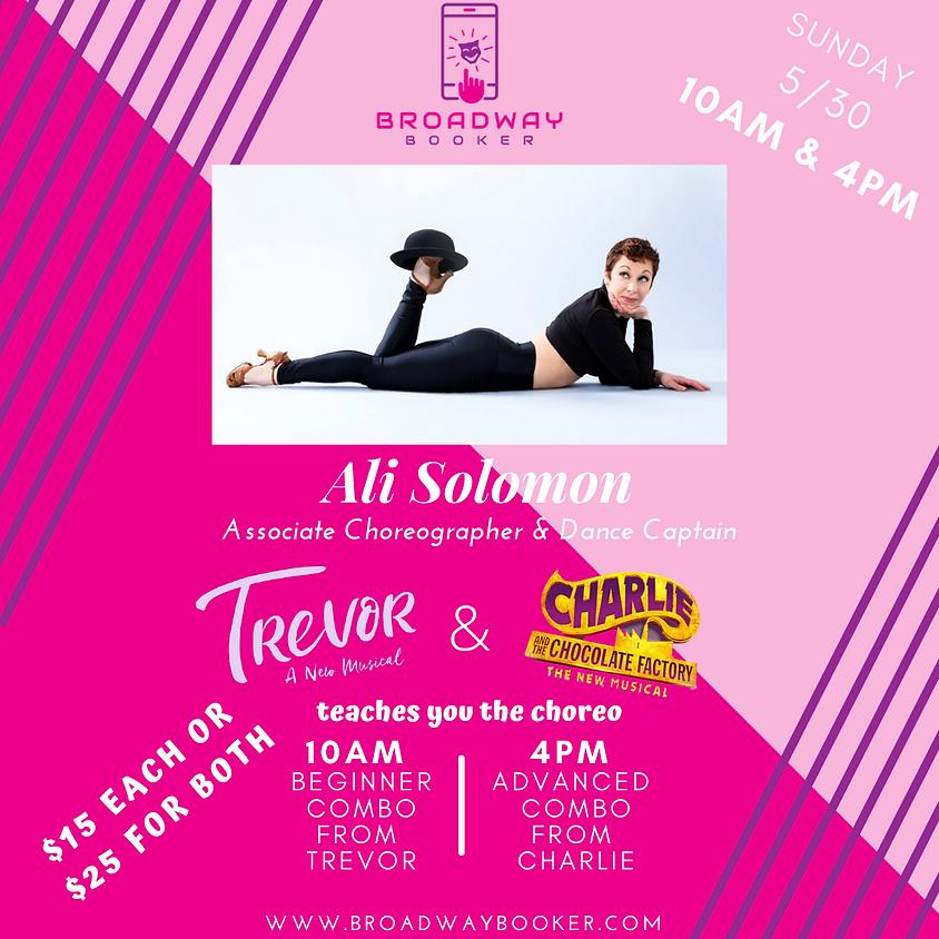 Ali Solomon Virtual Dance Class - Trevor & Charlie & the Chocolate Factory